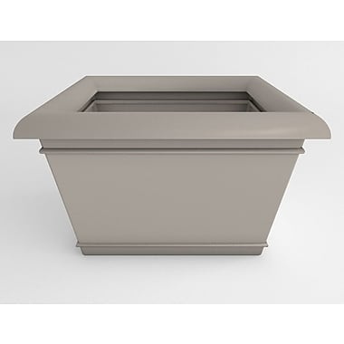 TerraCastProducts Catalina Resin Pot Planter; Concrete