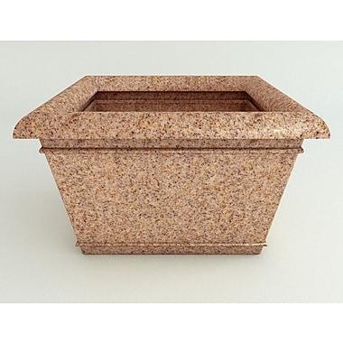 TerraCastProducts Catalina Resin Pot Planter; Indian Sandstone