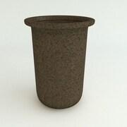 TerraCastProducts Resin Pot Planter; Dark Monzonite