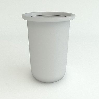 TerraCastProducts Resin Pot Planter; Gray