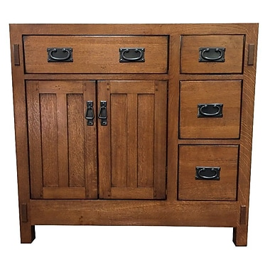 Sagehill American Craftsman 36'' Bathroom Vanity Base