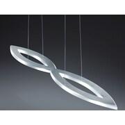 Contempo Lights Baro 1 LED Integrated Bulb Kitchen Island Pendant
