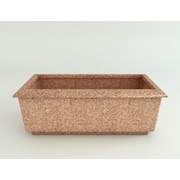 TerraCastProducts Roma Resin Planter Box; Indian Sandstone