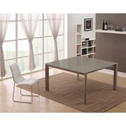 Casabianca Furniture Naples Dining Table; Taupe