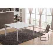 Casabianca Furniture Naples Dining Table; White