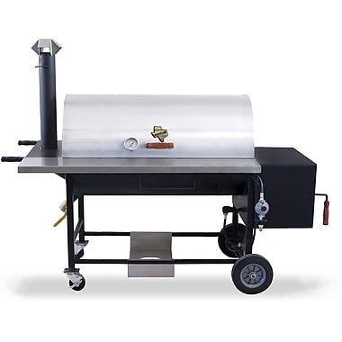 Pitts and Spitts 18'' x 30'' Ultimate Smoker & Grill