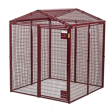 Animal House Ultra Heavy Duty Gable Covered Animal Cage