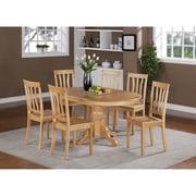 Wooden Importers Easton 5 Piece Dining Set; Oak