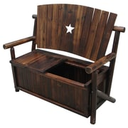 LeighCountry Char-Log Storage Bench I