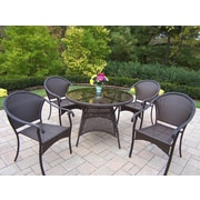 Oakland Living Tuscany 5 Piece Dining Set; Coffee