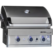 Barbeques Galore Turbo Elite 3-Burner Built-In Gas Grill; Natural Gas