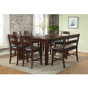 ViloHomeInc. Viola Heights Counter Height Extendable Dining Table