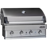Barbeques Galore Turbo 4-burner Built-in Gas Grill; Natural Gas
