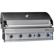 Barbeques Galore Turbo Elite 5-Burner Built-In Gas Grill; Natural Gas