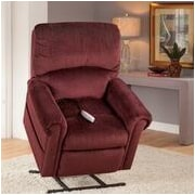 Serta Lift Chairs Brookfield Power Lift Recliner; Bryan Wine