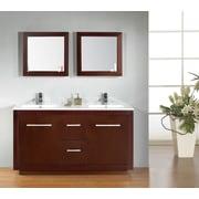 Ove Decors Cubix 60'' Double Vanity Set
