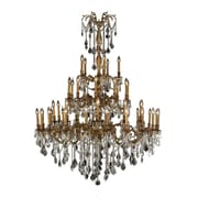 Worldwide Lighting Windsor 45-Light Crystal Chandelier