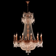 Worldwide Lighting Winchester 18-Light Crystal Chandelier