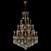 Worldwide Lighting Versailles 25-Light Crystal Chandelier