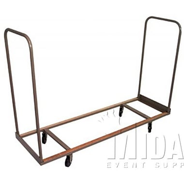 Midas Event Supply Banquet Table Dolly; 44'' H x 77'' W x 28'' D