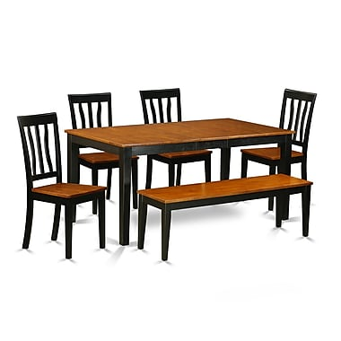 East West 6 Piece Dining Set