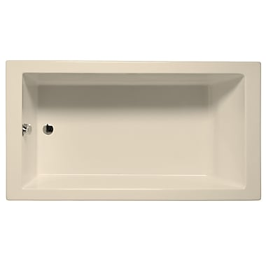 Malibu Home Inc. Venice 60'' x 32'' Air Bathtub; Biscuit