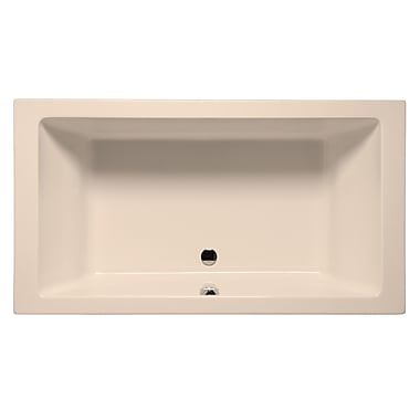 Malibu Home Inc. Naples 72'' x 36'' Whirlpool; Almond