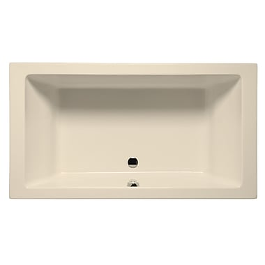Malibu Home Inc. Naples 72'' x 36'' Whirlpool; Biscuit
