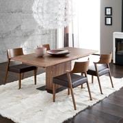 Domitalia Vita Extendable Dining Table; Walnut