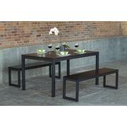 Elan Furniture Loft Dining Table; Onyx