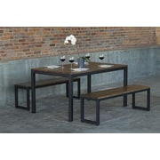 Elan Furniture Loft Dining Table; Chocolate Spice