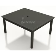 Forever Patio Barbados Dining Table; 60'' W x 60'' L