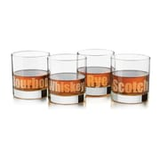 Libbey Perfect Whiskey Deco (Set of 4)