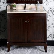 InFurniture WB 36'' Single Bathroom Vanity Set