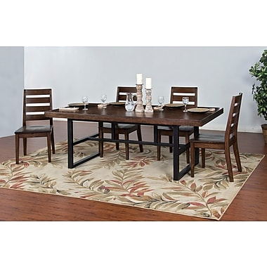 Sunny Designs Weathered Pine Dining Table