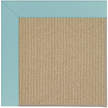 Capel Zoe Machine Tufted Seafaring Blue/Brown Indoor/Outdoor Area Rug; Rectangle 12' x 15'