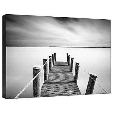 Ashton Wall D cor LLC Coastal 'Pier' Photographic Print on Wrapped Canvas