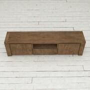 Urban Woodcraft Knightsbridge TV Stand; Dark Wood