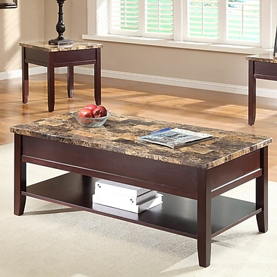 Woodhaven Hill Orton Coffee Table w/ Lift Top