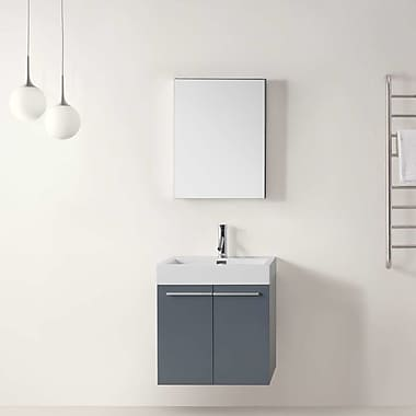 Virtu Midori 24'' Single Bathroom Vanity Set w/ Mirror