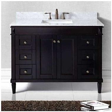 Virtu USA Tiffany 48'' Bathroom Vanity Cabinet; Espresso