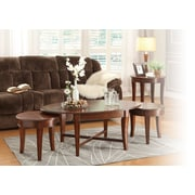 Woodhaven Hill Violetta 3 Piece Occasional Coffee Table Set