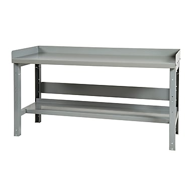 Parent Metal Products Adjustable Height Steel Top Workbench; 34.75'' H x 48'' W x 24'' D