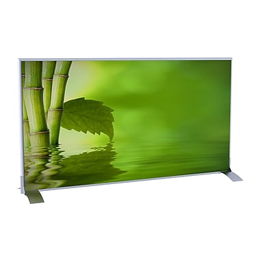 Paperflow EasyScreen 38.57'' x 70.86'' Horizontal 1 Panel Room Divider