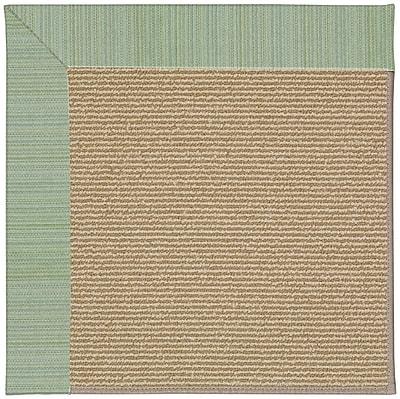 Capel Zoe Machine Tufted Green Spa and Beige Indoor/Outdoor Area Rug; Rectangle 12' x 15'