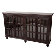 MOTI Furniture Aspen Display Stand; Dark