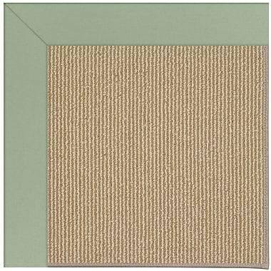 Capel Zoe Machine Tufted Light Jade and Beige Indoor/Outdoor Area Rug; Rectangle 12' x 15'
