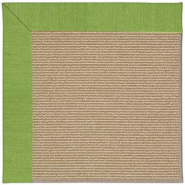 Capel Zoe Machine Tufted Grass and Beige Indoor/Outdoor Area Rug; Rectangle 9' x 12'