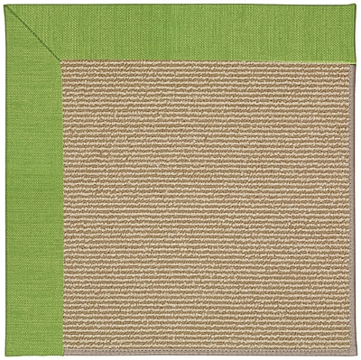 Capel Zoe Machine Tufted Grass and Beige Indoor/Outdoor Area Rug; Rectangle 10' x 14'