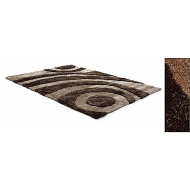 Creative Furniture Two Tone Tan/Brown Area Rug